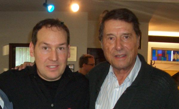 Michael Falkenstein Mit Udo Jürgens Im Hammond Orgel Studio In